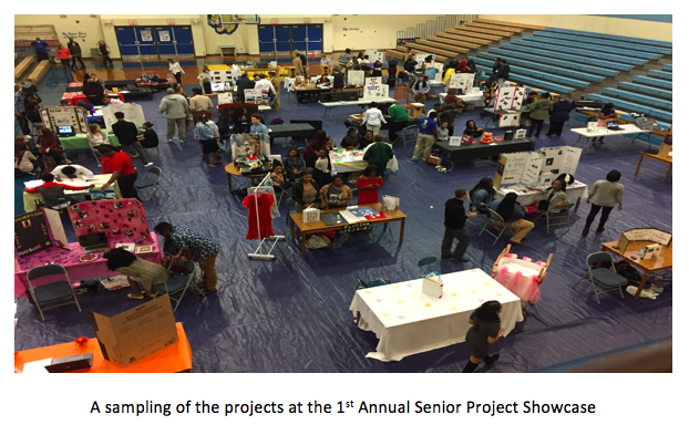 FCPS FOCUS: 1st Annual Senior Project Showcase a Huge Success Thumbnail Image