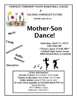 Mother/Son Dance April 11!