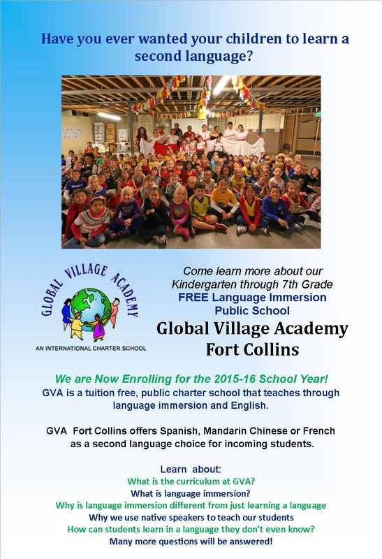 GVA Fort Collins is Still Enrolling for the 2015-16 School Year