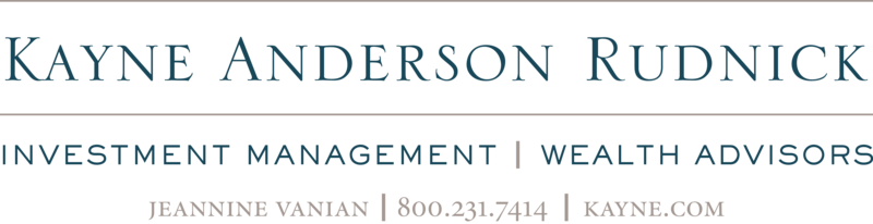 Thank you to Kayne, Anderson, Rudnick Investment Management for their generous support of LACES!