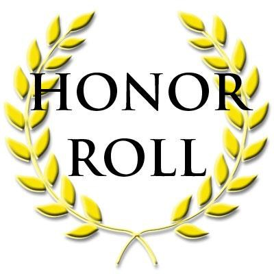 Congratulations on Making the Honor Roll