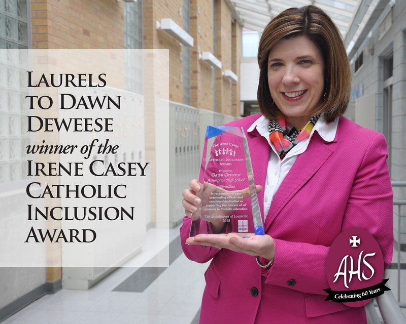 Director of Guidance Receives Irene Casey Inclusion Award