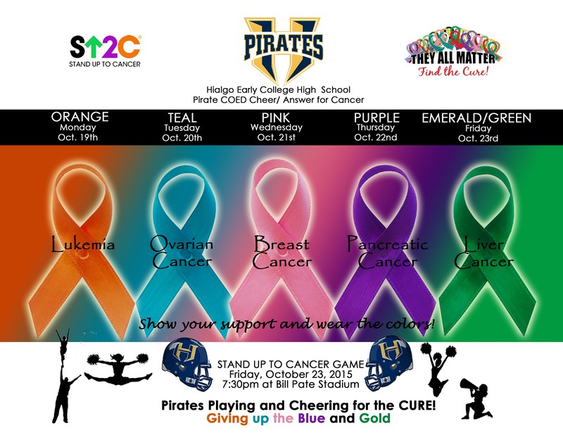 HISD Stand Up To Cancer Awareness Week!