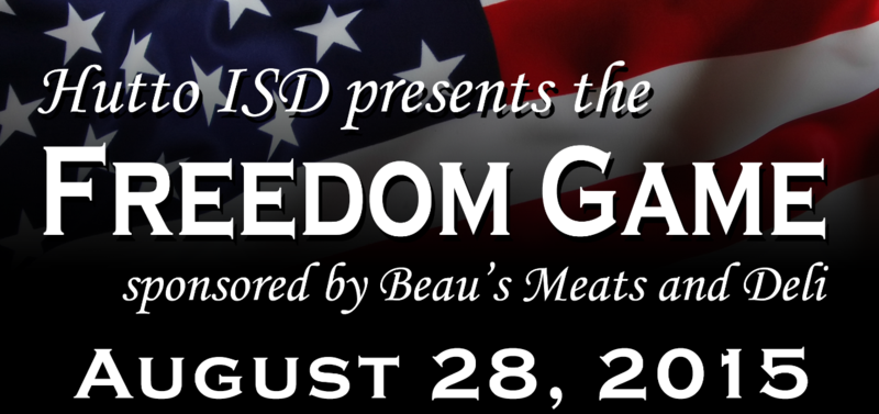 Join us August 28th for the Freedom Game!