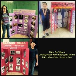 History Fair Winners