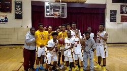 CTK Gladiators Win the St. Benedict Prep Thanksgiving Boys Basketball Tournament