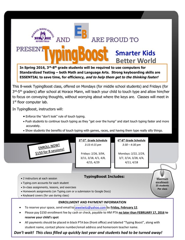TypingBoost Classes Available - Sign Up Now