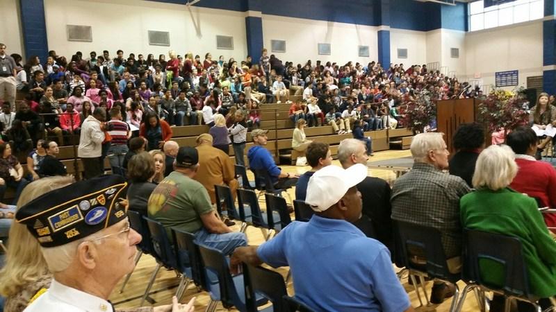 Sam Rayburn Celebrates Veterans Day