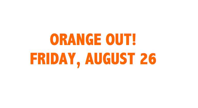 ORANGE OUT THIS FRIDAY! Thumbnail Image