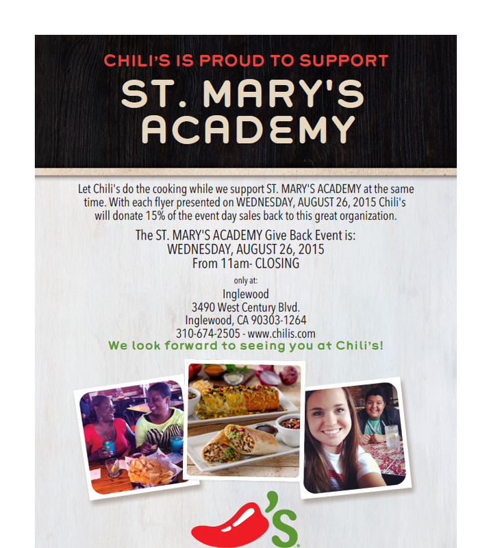 Chili's Is Proud To Support
