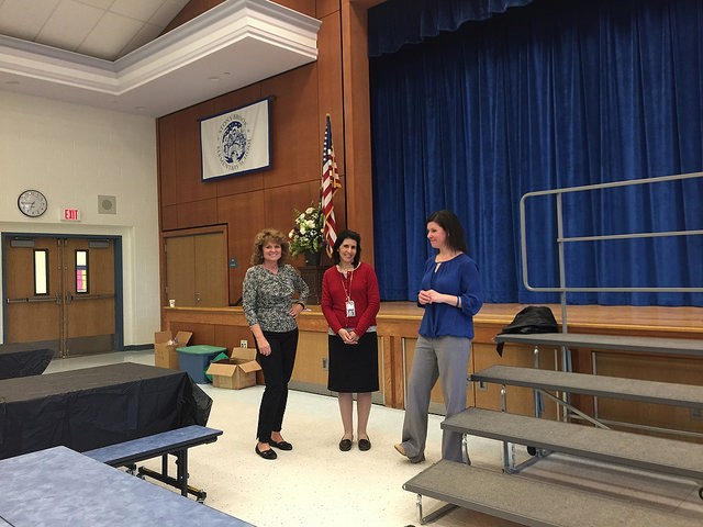 Members of the World Languages department visit Stony Brook Elementary