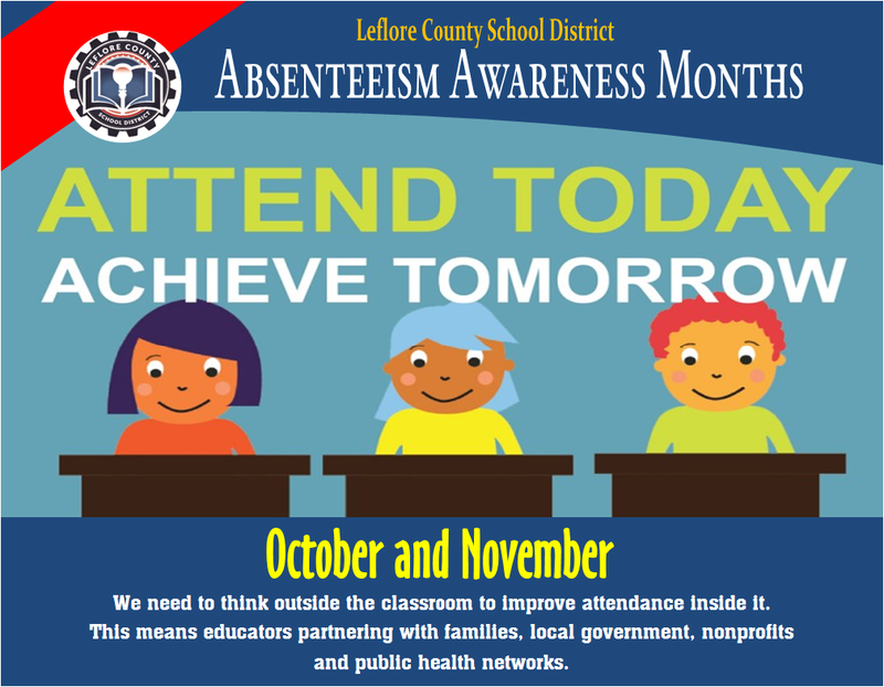 ABSENTEEISM AWARENESS MONTHS - OCTOBER & NOVEMBER