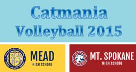 Catmania Volleyball - Thursday, October 8 @ Mt. Spokane High School