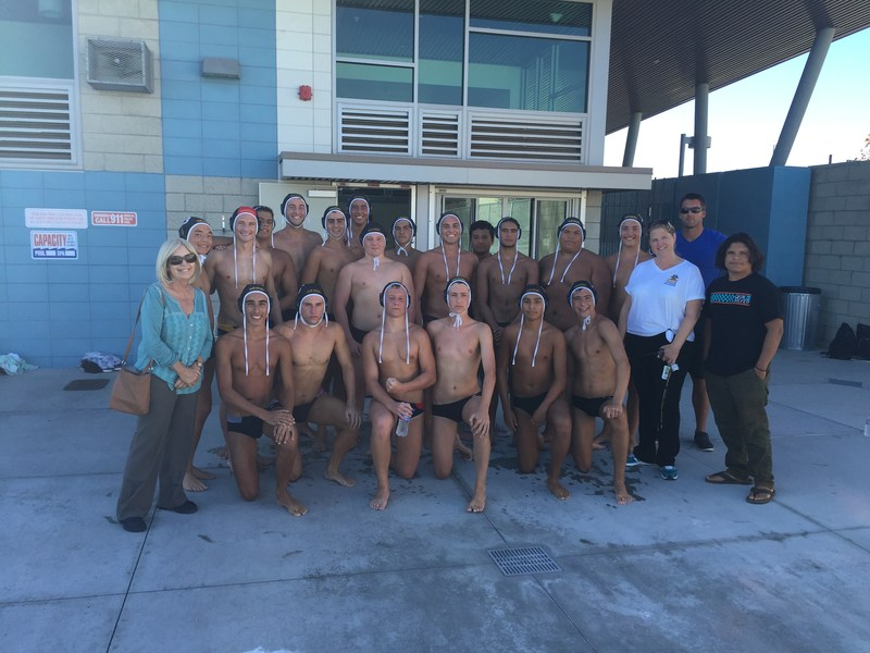 Water Polo team wins last home game of season ! Congratulatios Coach Perhat and team.