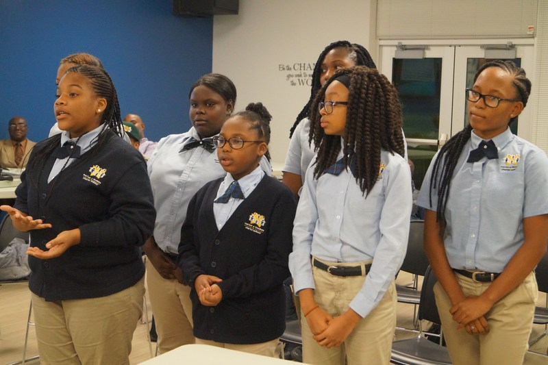 Middle School Scholars Stand Up and Speak Out! Thumbnail Image