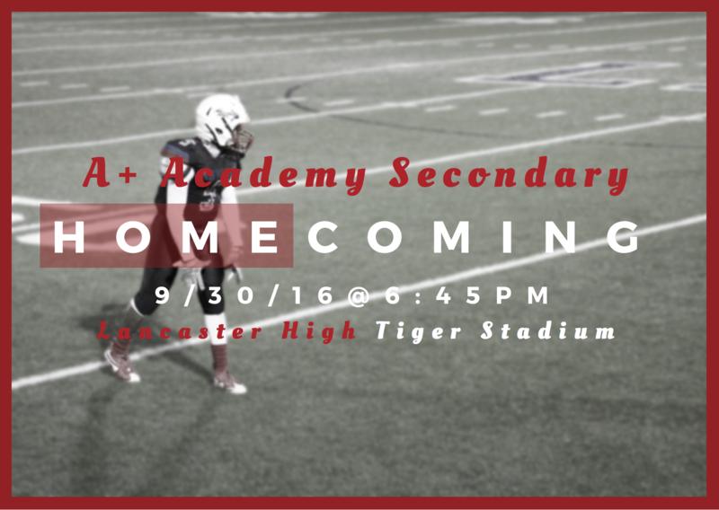 A+ Academy Homecoming Thumbnail Image