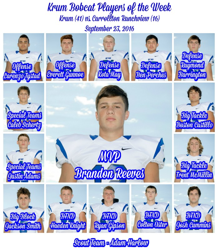 9/23 Bobcat Players of the Game Announced Thumbnail Image