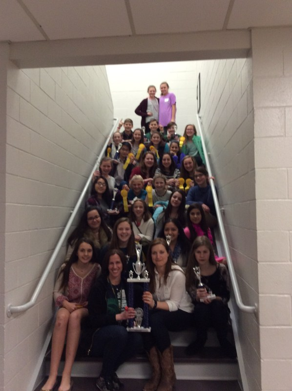Speech and Drama Teams Wins 1st Place Trophy!
