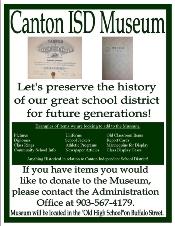 CANTON ISD MUSEUM