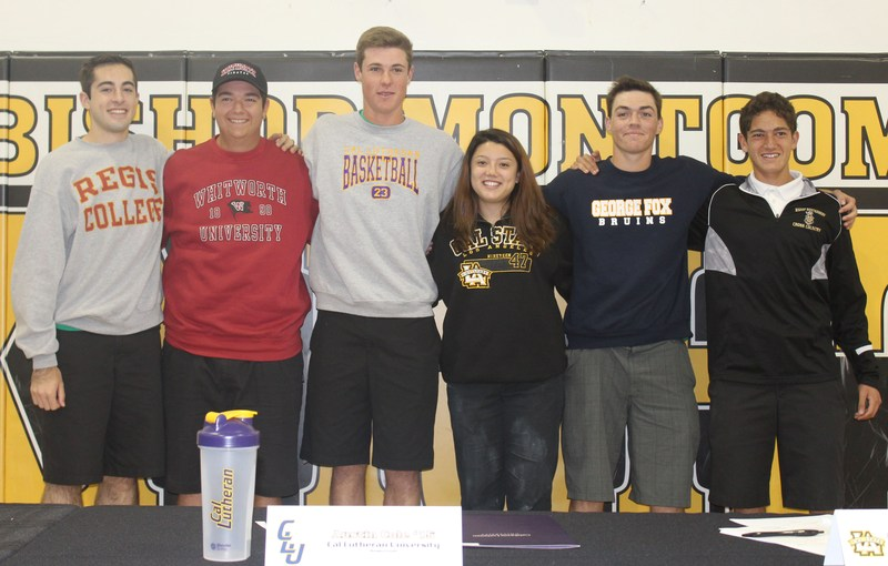 Six Student-Athletes Make College Choices