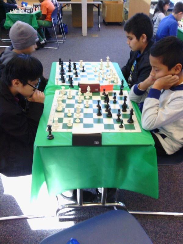 KLA Chess Club Holiday Scholastic- RESULTS