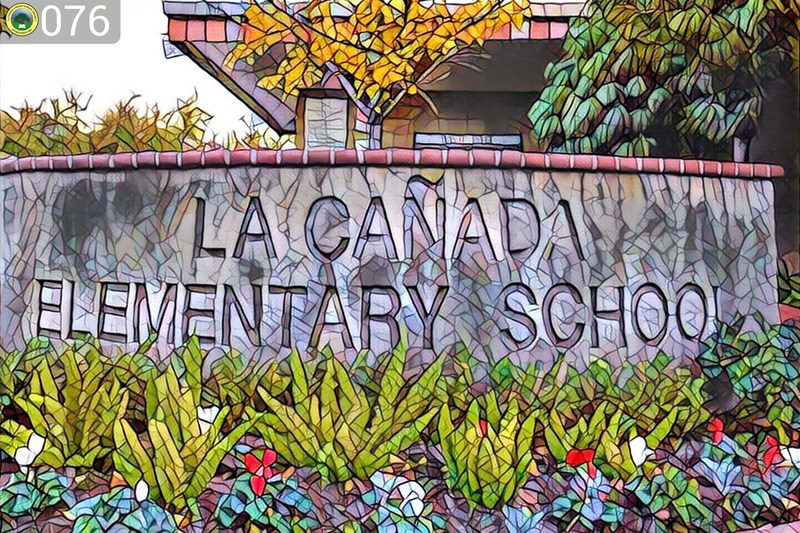 Front of LCE using the Prisma App