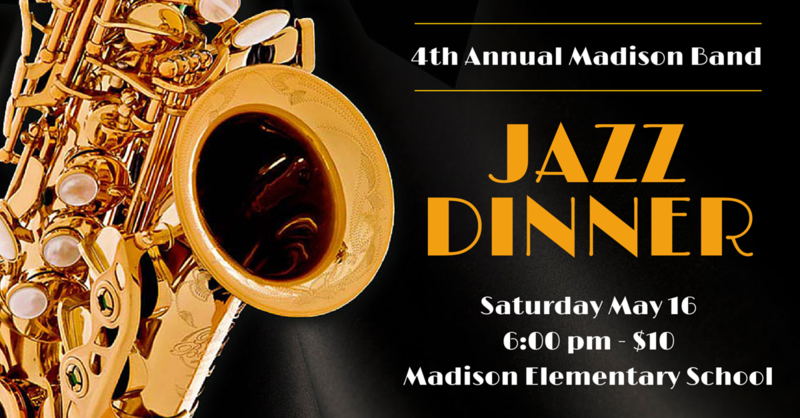 4th Annual Madison Jazz Dinner