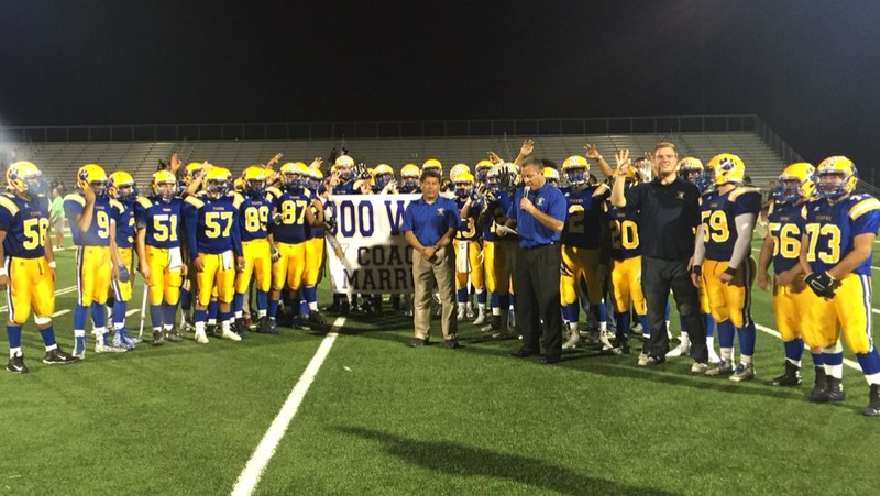 Coach Mike Marrujo Wins 300th Career Victory