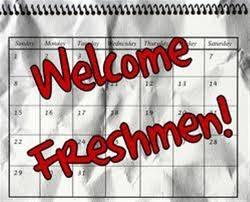 Freshmen Orientation- August 7, 2015