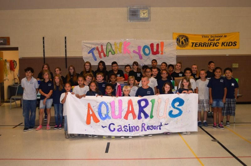 Aquarius School Supplies Drive