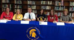 Spartan Rowers Sign Letters of Intent!