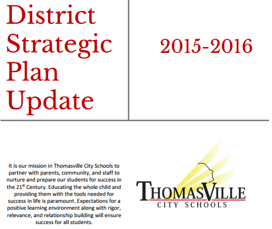 2015-16 District Strategic Plan Goals
