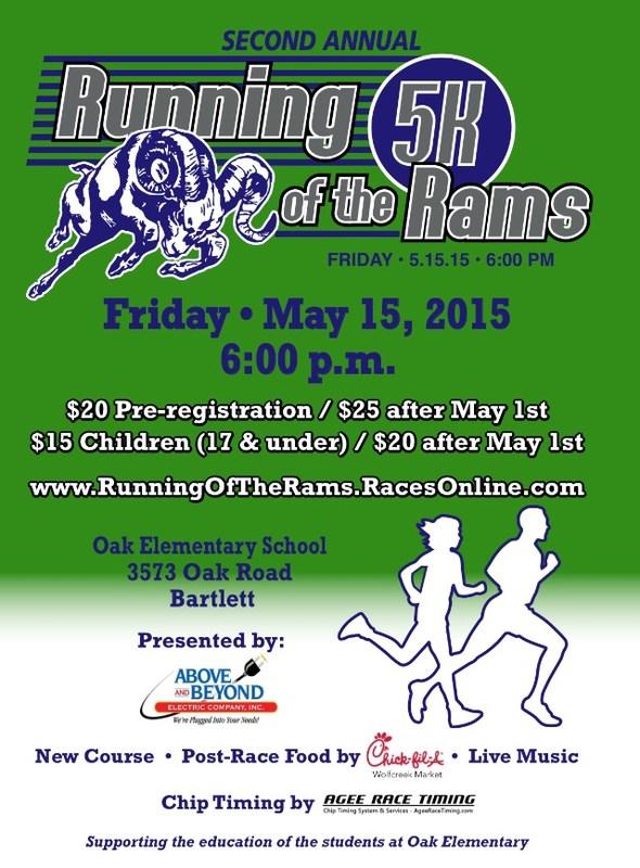 Oak Elementary Running of the Rams 5K