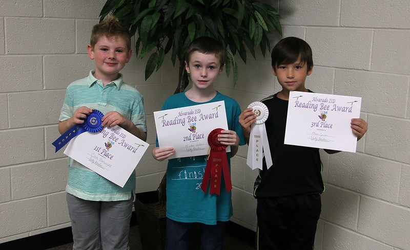 North student wins district reading bee