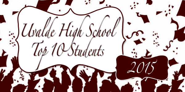 UHS Honors the Class of 2015 Top Ten Students