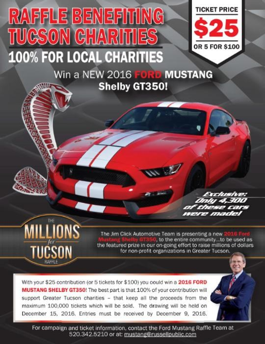 Win a Limited Edition Ford Mustang and Support San Miguel Students! Thumbnail Image