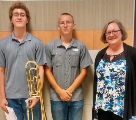 Alex van Til and Riley Richter Take Region Jazz Band Places Thumbnail Image