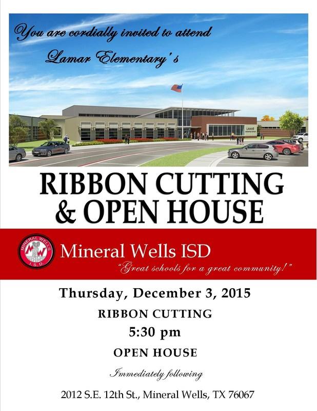 Lamar Elementary Ribbon-Cutting & Open House