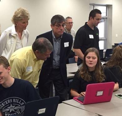 THS Showcases High Tech Education