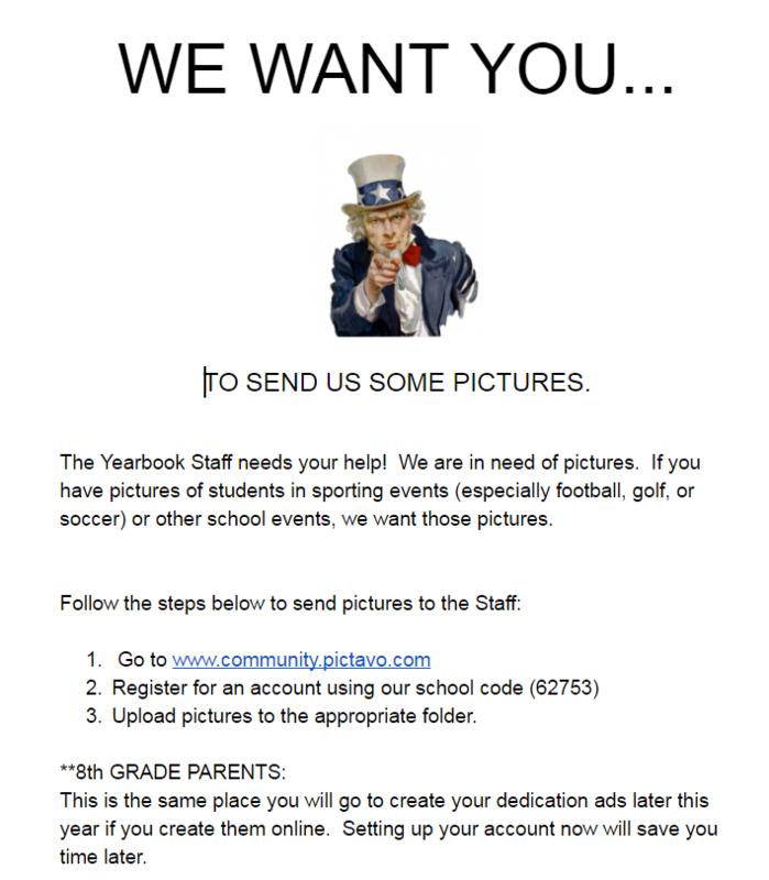 WE WANT YOUR PICTURES! Thumbnail Image