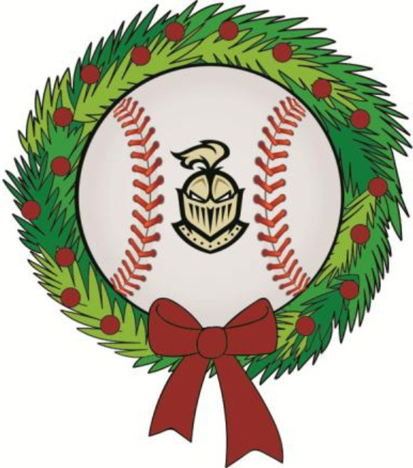 Baseball Holiday Wreath/Evergreen Fundraiser