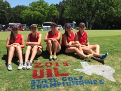 Girls Golf Team Places 5th in State