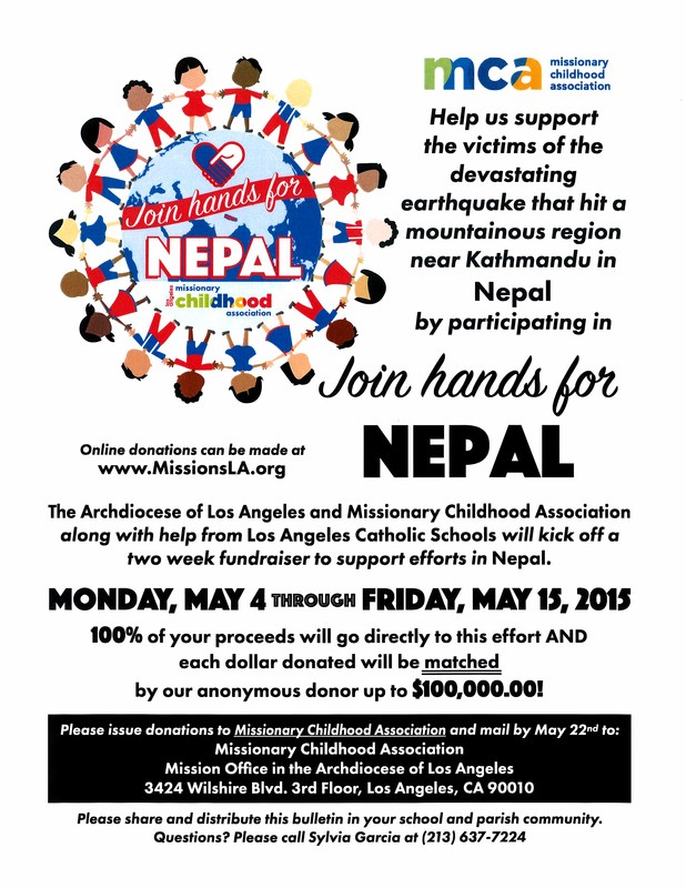 JOIN HANDS FOR NEPAL