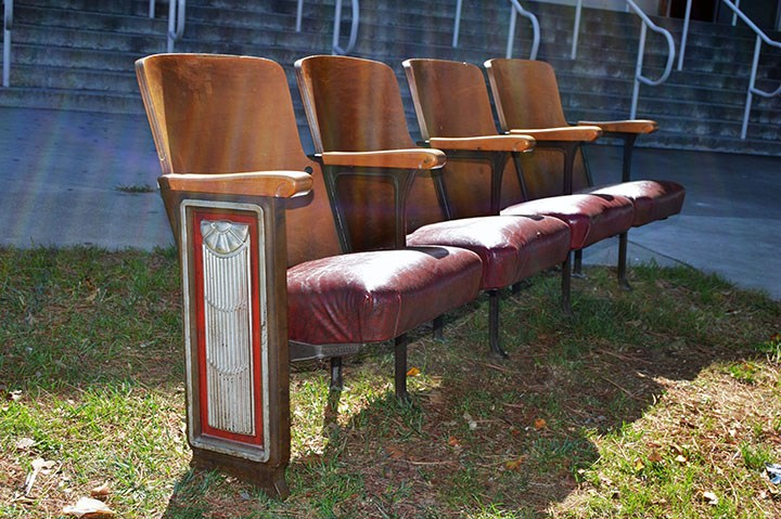 Valencia's original auditorium seats and lights for sale!