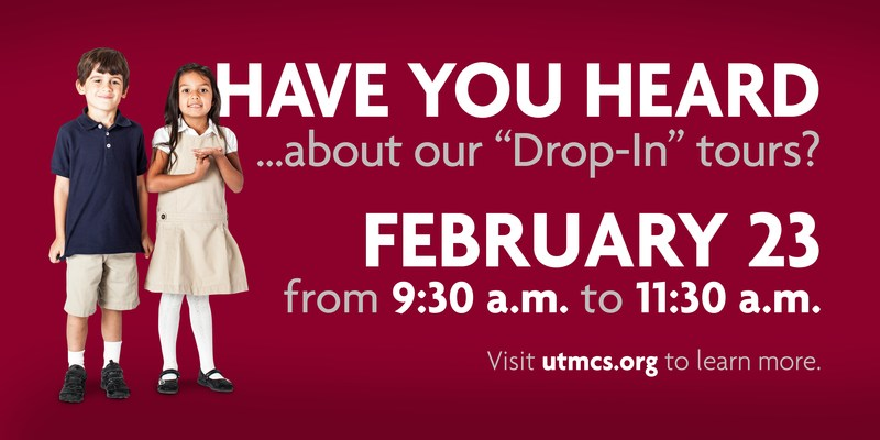 """Choir School admissions """"Drop-In"""" tours: Tuesday, February 23 -- 9:30 a.m. to 11:30 a.m."""