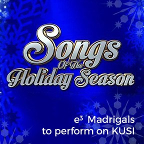 e3 Civic High Madrigals Choir chosen to sing on live TV - KUSI 2015 Songs of Holiday Season