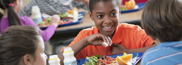 Meridian Participates in the National School Lunch Program