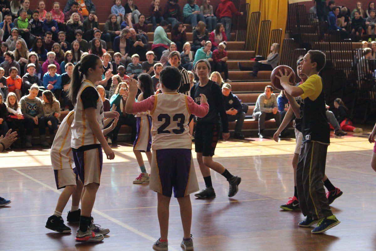 Special Olympics basketball game