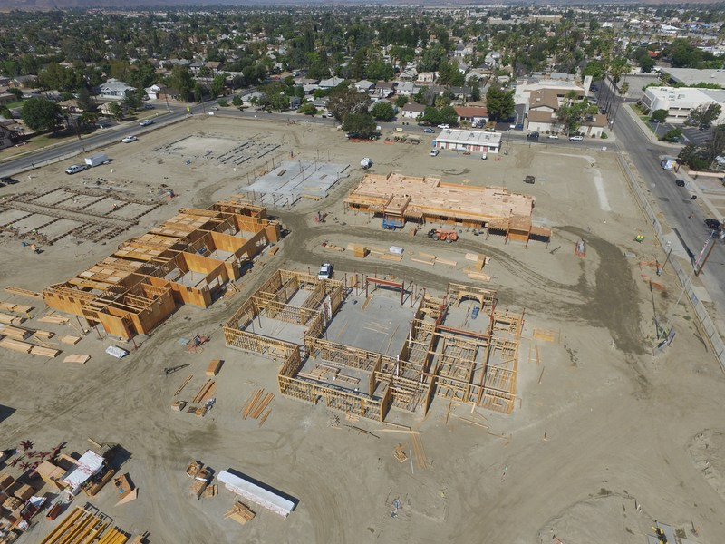 Construction of Hemet Elementary