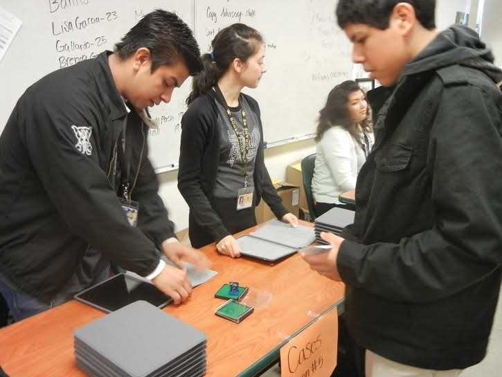 Neuwirth Students featured in a 1:1 Deployment Article.